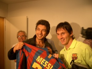 Darn y Messi