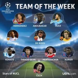 UEFA TEAM of the Week