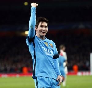 Messi conquista Londres