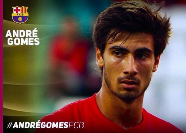 André Gomes, novo jogador do Barça
