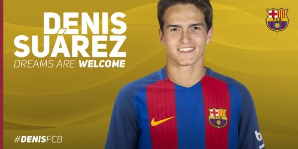 Denis Suárez está de volta ao Barça