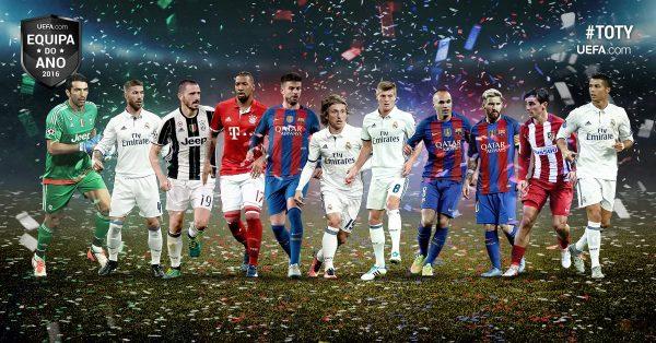 Time do Ano da UEFA 2016