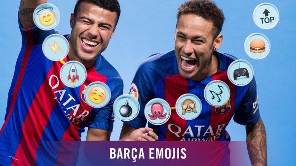 Neymar e Rafinha e o vídeo dos emojis.