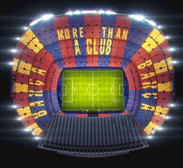 O mosaico para a Champions