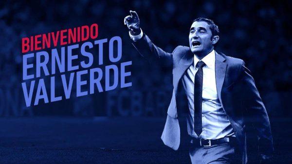 Valverde, novo técnico do Barça