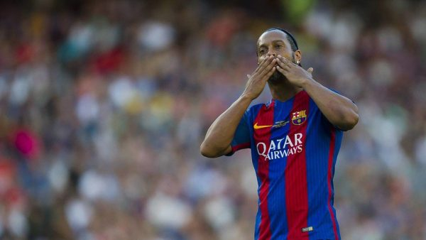 Ronaldinho Barça Legends
