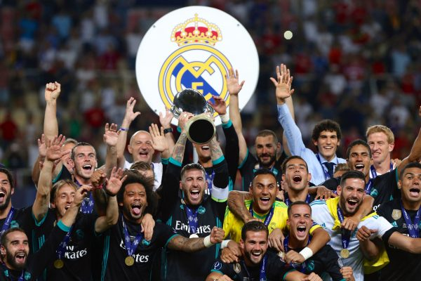 Real Madrid Supercopa da Europa 2017