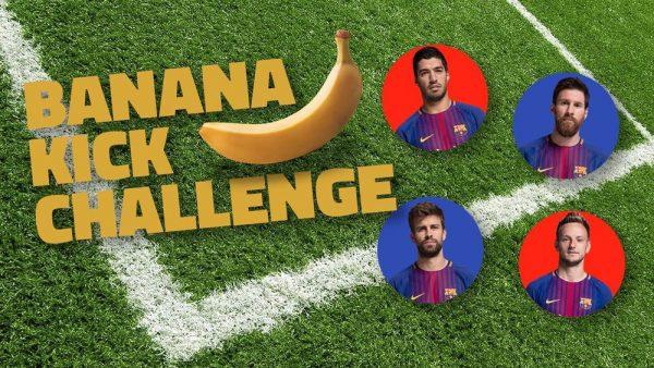 Foto Banana kick challenge