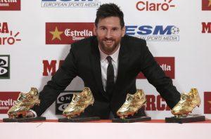 Leo Messi: eternamente azul-grená!