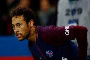 Neymar, durante um duelo da Liga Francesa