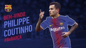 Coutinho já é do Barça