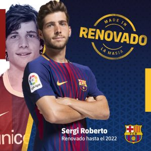 Sergi Roberto, renovado até 2022