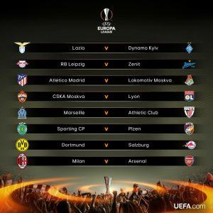 Oitavas de final da Liga Europa