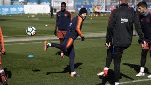 A roda de bobinho do Barça