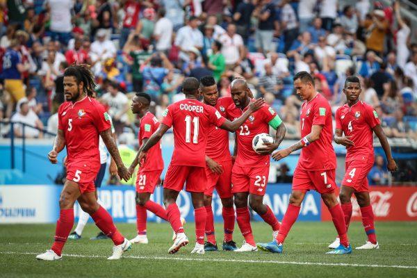 Panamá comemora gol