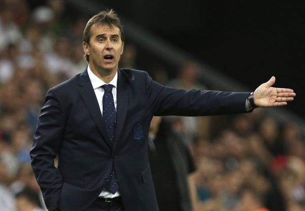Lopetegui, novo técnico do Real Madrid