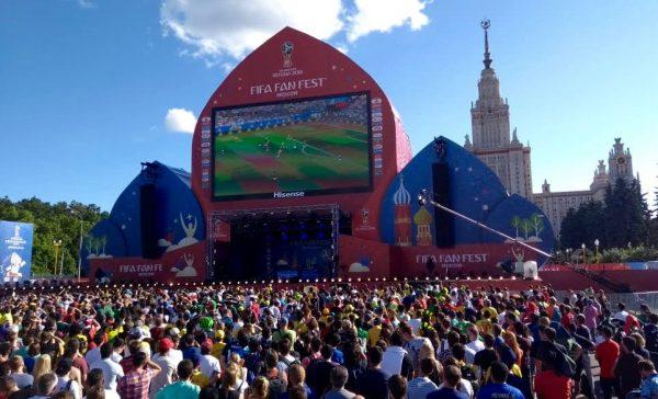 A FIFA Fan Fest de Moscou