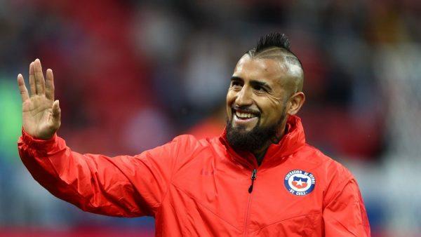 O chileno Arturo Vidal (31 anos) é o novo reforço do Barça