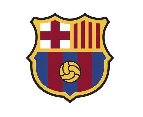 O novo escudo do Barça