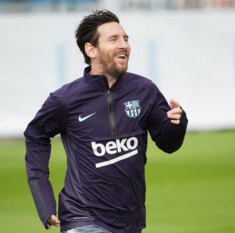 Messi, de volta aos treinos
