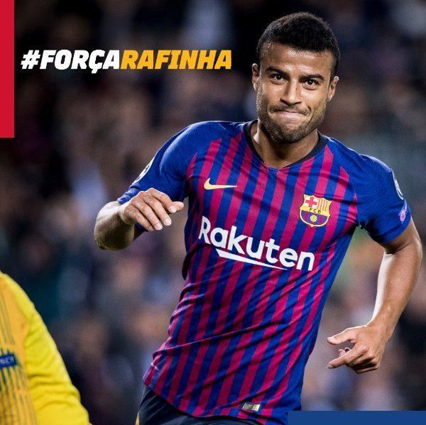 O brasileiro do Barça dificilmente voltará a jogar nessa temporada