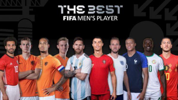 Esses são os 10 candidatos ao prêmio 'The Best' 2019