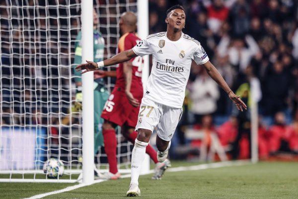 Rodrygo, novo ídolo do Real Madrid