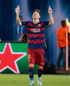 Leo Messi, MVP da final de Tbilisi