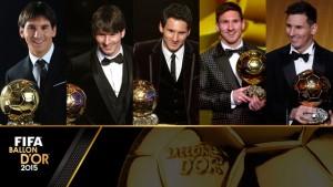 Clique na foto acima e confira o especial das cinco Bolas de Ouro de Leo Messi