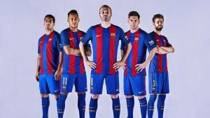 O novo uniforme do FC Barcelona