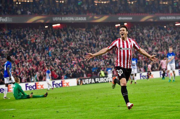 Aduriz marcou cinco gols ao Genk