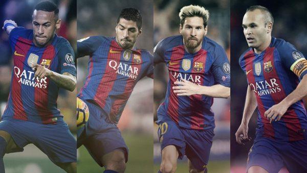 O quarteto fantástico do Barça