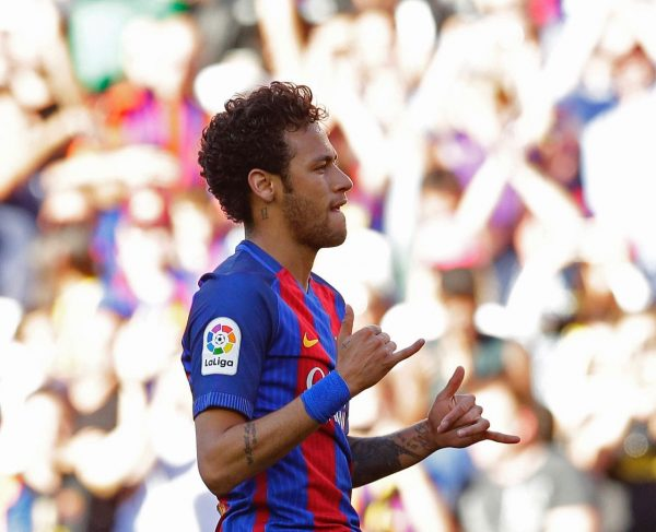 Neymar, no Camp Nou