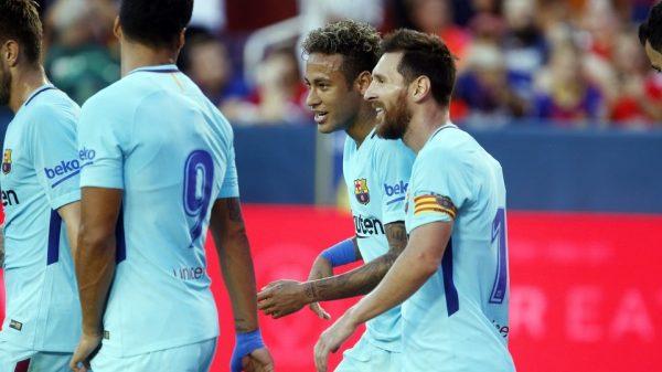 Neymar e Messi