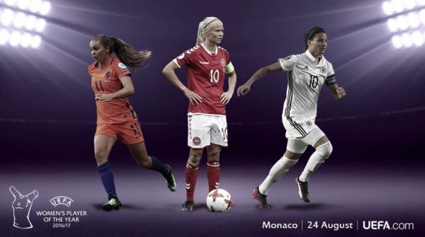 Finalistas do prêmio UEFA