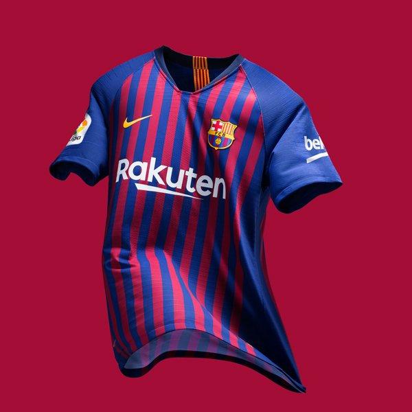 O uniforme do Barça 2018/19