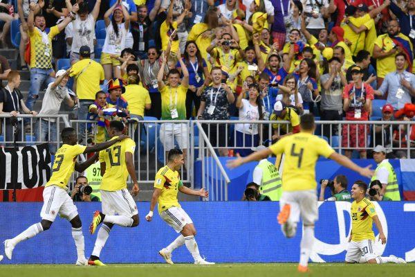 Yerry Mina marcou segundo gol na Copa
