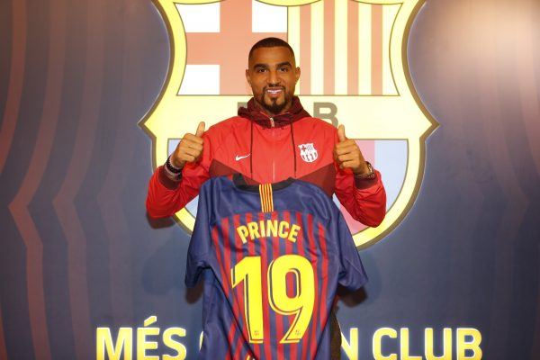 Kevin-Prince Boateng será o novo camisa 19 do Barça