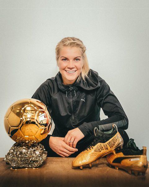 Hegerberg, a primeira Bola de Ouro feminina da história