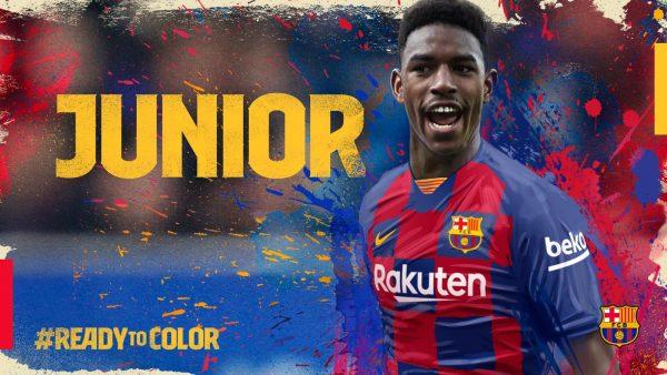 O lateral hispano-dominicano é o novo reforço do Barça para as próximas cinco temporadas