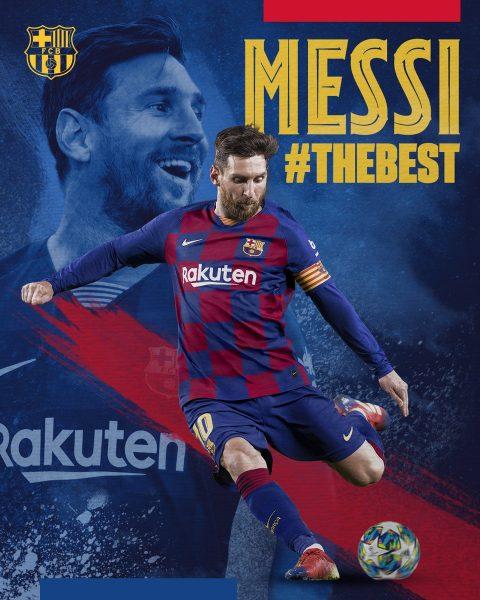 Messi, eleito melhor do mundo da FIFA